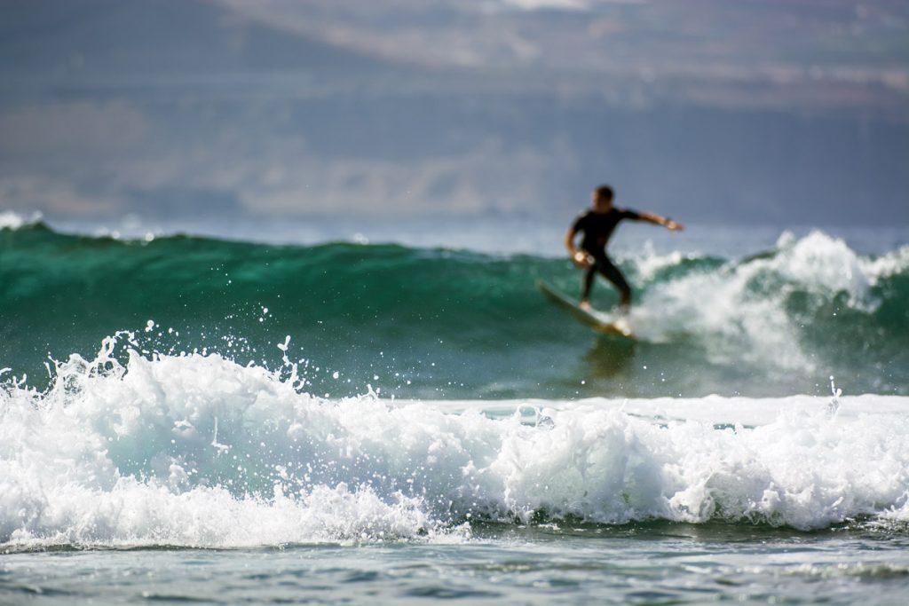 surf en las palmas de gran canaria