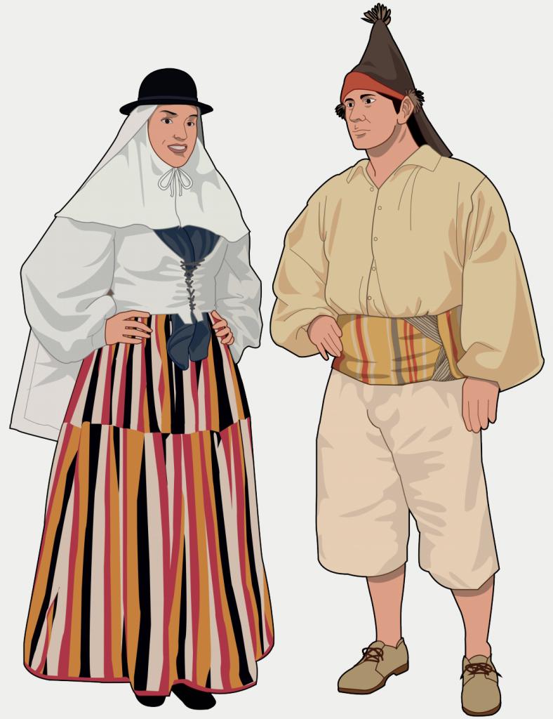 traje tipico gran canaria